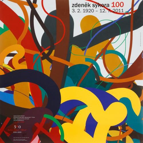 Zdeněk Sýkora 100 | Plakáty | (11.2. 20 11:42:47)