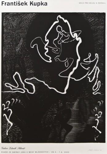 František Kupka – Sólo pro bílou a černou | Plakáty | (25.6. 16 04:23:57)