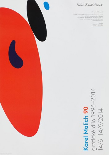 Karel Malich at 90: Graphic Works 1993–2014 | Posters | (6.11. 19 11:58:01)