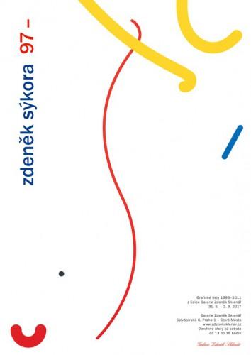 Zdeněk Sýkora 97– Grafické listy 1993–2011 z Edice Galerie Zdeněk Sklenář | Plakáty | (5.12. 17 16:50:50)