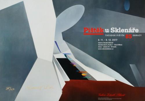 Pištěk at Sklenář: Theodor Pištěk at 85 – Paintings | Posters | (1.3. 18 09:53:58)