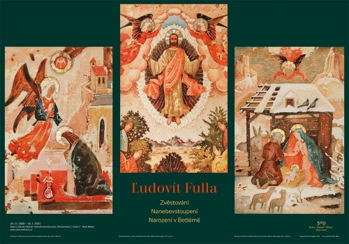Ľudovít Fulla: The Annunciation, The Ascension, Christ's Birth in Bethlehem | Posters | (26.11. 20 17:19:40)