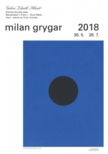 Milan Grygar 2018 | Plakáty | (23.10. 18 13:52:13)