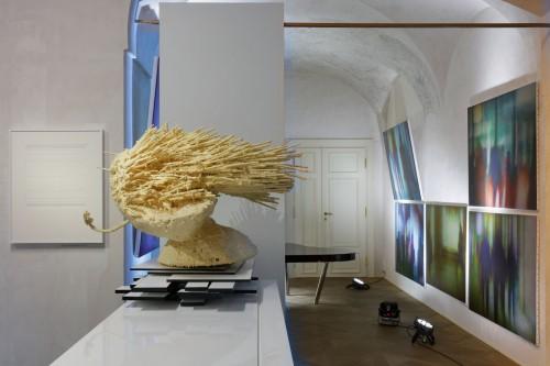 Exhibition   Divine Error: Data Paintings by Kamila B. Richter   7. 5. –  7. 9. 2019   (8.10. 19 14:26:55)
