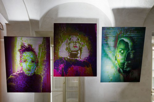 Exhibition   Divine Error: Data Paintings by Kamila B. Richter   7. 5. –  7. 9. 2019   (8.10. 19 14:26:54)