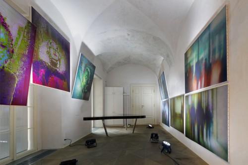 Exhibition   Divine Error: Data Paintings by Kamila B. Richter   7. 5. –  7. 9. 2019   (8.10. 19 14:26:52)