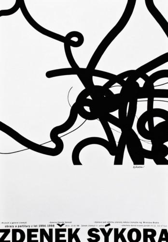 Zdeněk Sýkora: Paintings and Scores 1994–1998 | Posters | (25.6. 16 04:24:06)